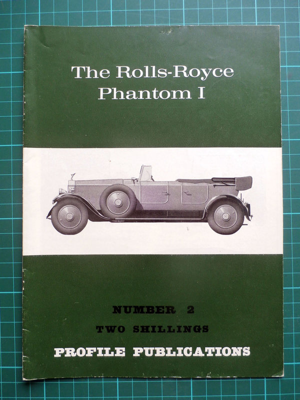 Rolls-Royce Phantom I - Profile Publications Issue 2