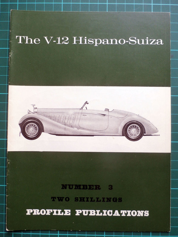 V-12 Hispano-Suiza - Profile Publications Issue 3