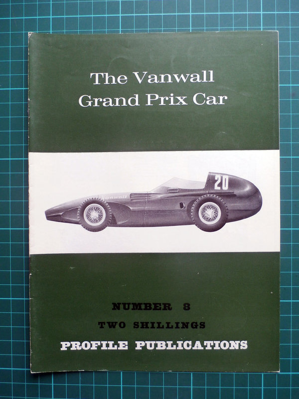 Vanwall Grand Prix Car - Profile Publications Issue 8