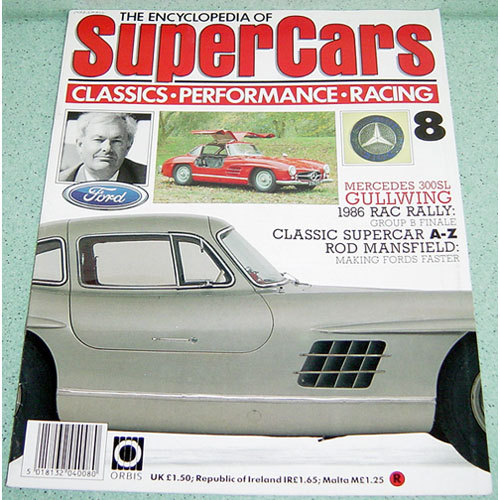 Mercedes-benz 3SL Gullwing / Rod Mansfield - Supercars # 8